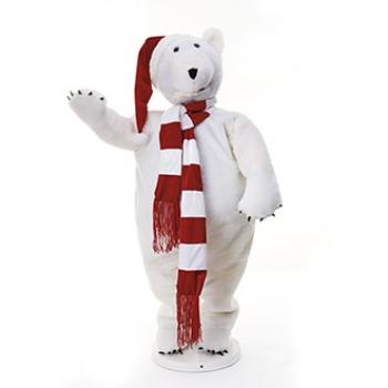 Isbjørn, danser, m/musik, (125cm) adapter 220V