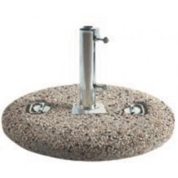 Parsol Fod 80 kg små sten til 64Ø (432)